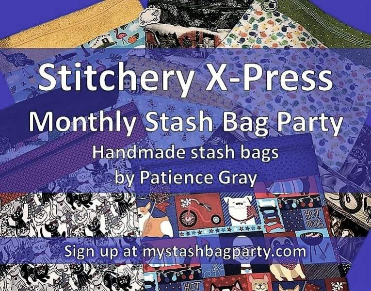 Montly Stash Bag Party
