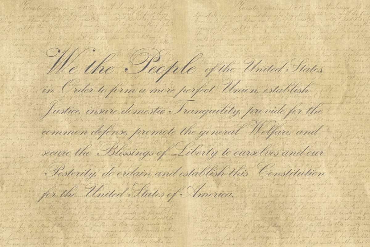 we the people preamble to the constitution