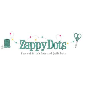 Zappy Dots Needle Minders, Jewelry, Scissor Fobs