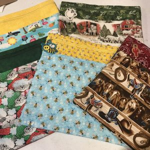 large fabric stash bags