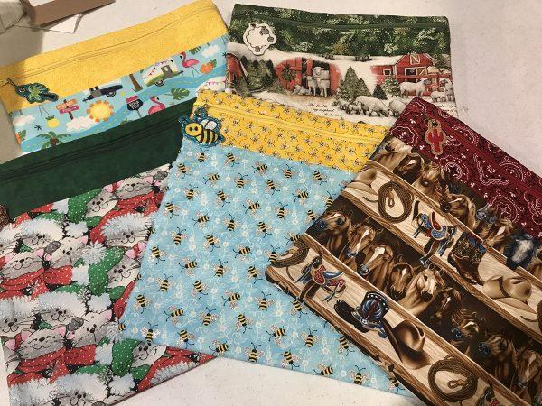 large fabric stash bags